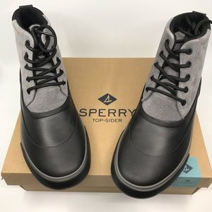 Sperry Men's Cutwater Boots Grey/Black